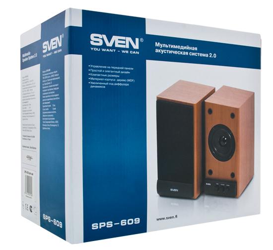 Упаковка SVEN SPS-609