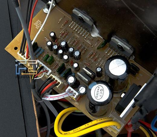 усиления bi-amp схемой.