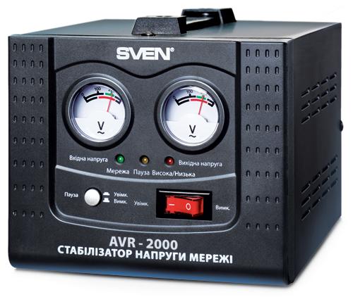 напряжения сети AVR-2000